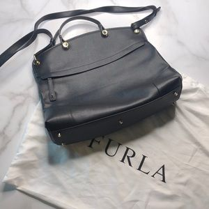 Furla Crossbody Leather Purse